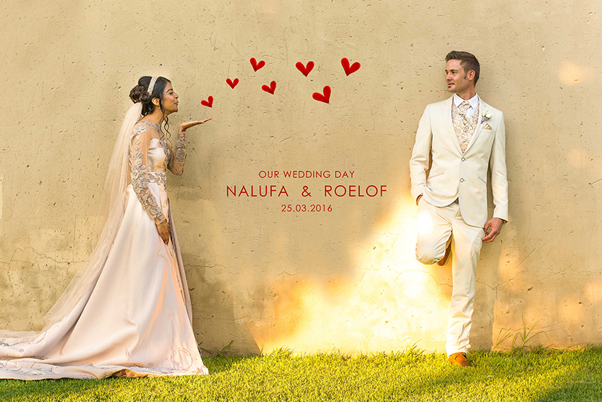 NALUFA & ROELOF MULTICULTURAL WEDDING